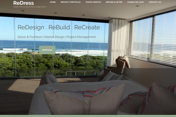 ReDress Website development