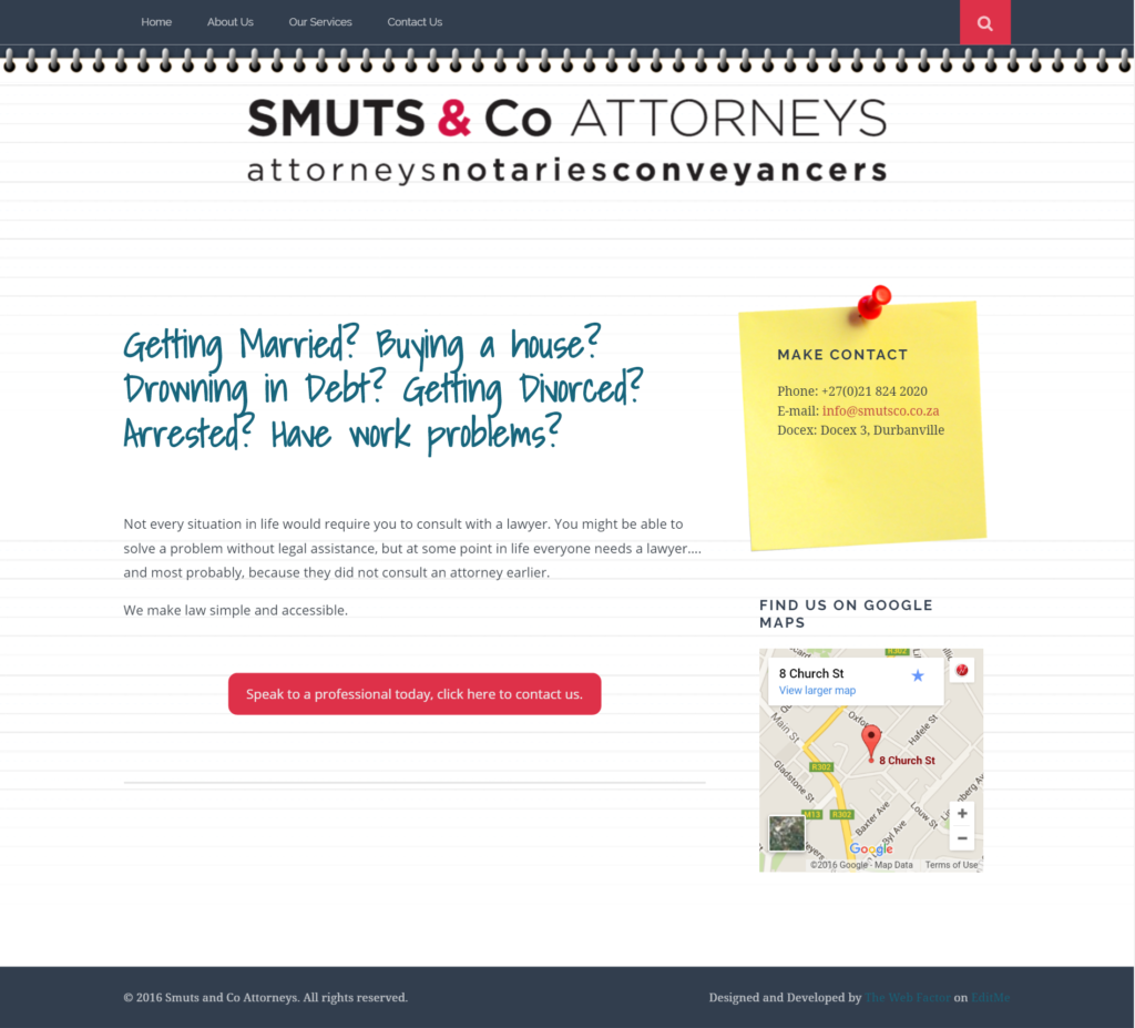 Smuts Co Smuts and Co Attorneys