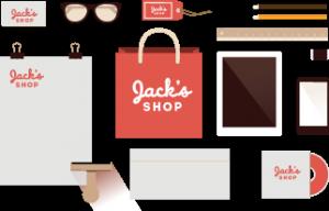 Tailorbrands simple logo design